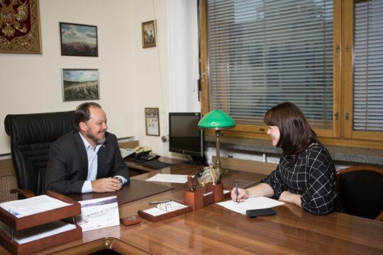 Интервью с Александром Шолоховым